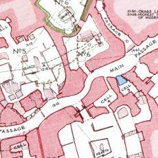 Skara Brae site plan, 1931.